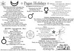 pagan holidays Christians celebrate