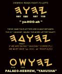 Name YAHUAH