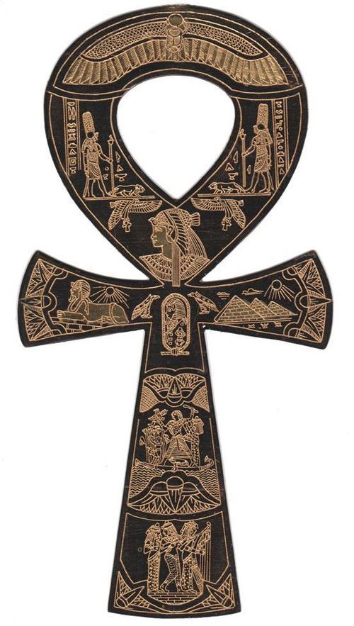 Ausetegyptian Ankh Symbol Lifeausetgoddessqueen Besorah Good