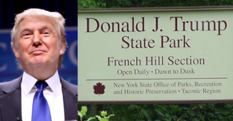 state park trump